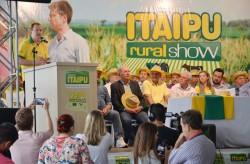 Abertura Oficial da 19ª edição do Itaipu Rural Show é realizado