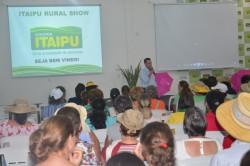 Palestra Motivacional para Mulheres no Itaipu Rural Show