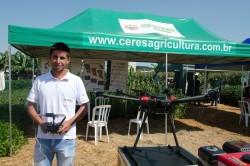 Tecnologia em Drone para lavoura é novidade no Itaipu Rural Show