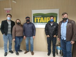Cooperitaipu e ACCB mantém parceria para o próximo Itaipu Rural Show